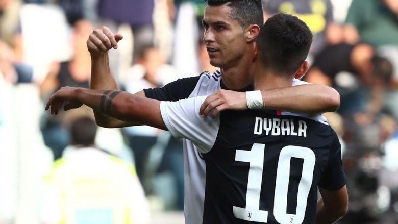 Cristiano Ronaldo e Paulo Dybala  (Foto: Marco Luzzani/Getty Images)