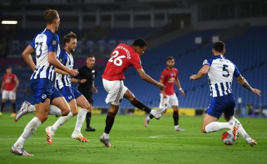 Manchester United fiton me lehtësi ndaj Brightonit