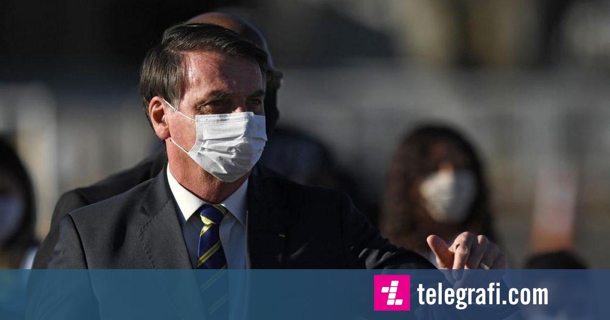 E quajti  grip të lehtë  dhe u mundua të minimizoj rrezikun e COVID 19  presidenti brazilian ka simptoma të coronavirusit