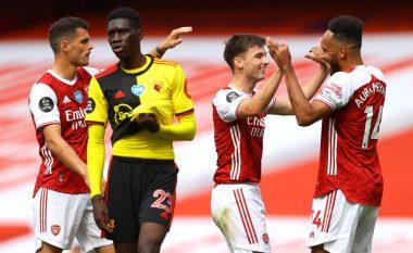 Arsenali jashtë zonës evropiane, Watfordi bie nga elita