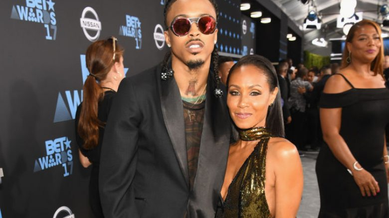 August Alsina dhe Jada Pinkett Smith (Foto: Paras Griffin/Getty Images for BET/Guliver)