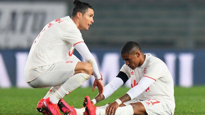 Cristiano Ronaldo e Douglas Costa  (Foto: Alessandro Sabattini/Getty Images)