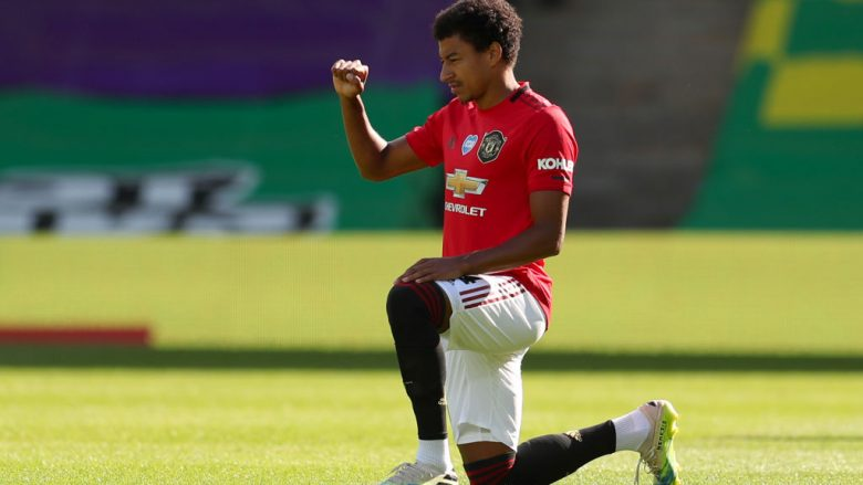 Jesse Lingard. (Photo by Catherine Ivill/Getty Images)
