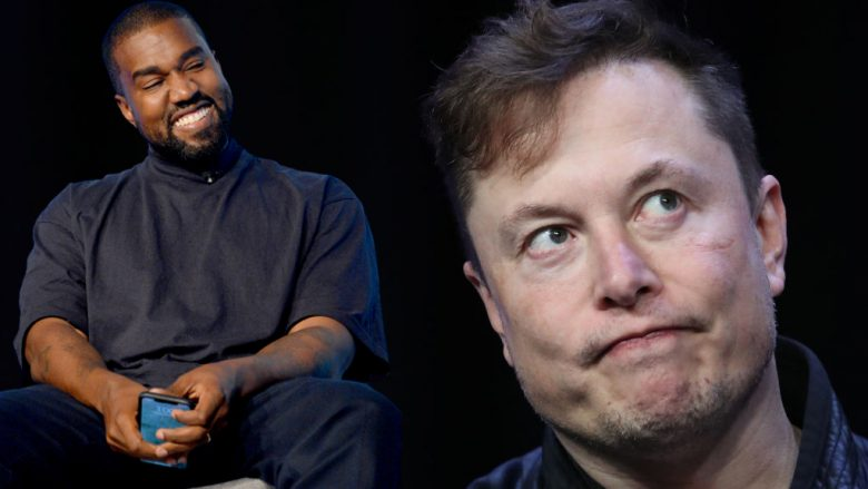 Kanye West, Elon Musk (Foto: Getty Images)