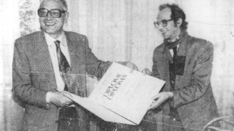 Martin Camaj dhe Ibrahim Rugova