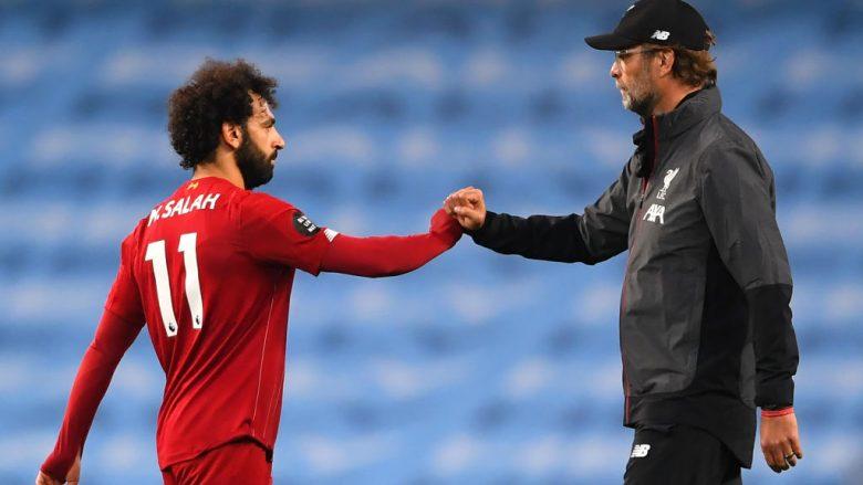 Mohamed Salah dhe Jurgen Klopp (Foto: Laurence Griffiths/Getty Images/Guliver)
