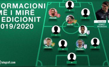 Formacioni më i mirë në IPKO Superligë për sezonin 2019/2020