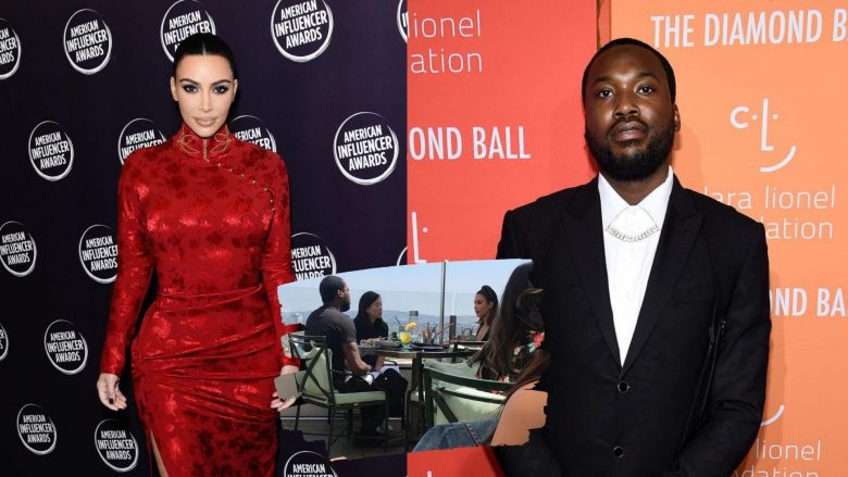 Kim Kardashian dhe Meek Mill (Foto: Gettyimages/Guliver/Mirror)