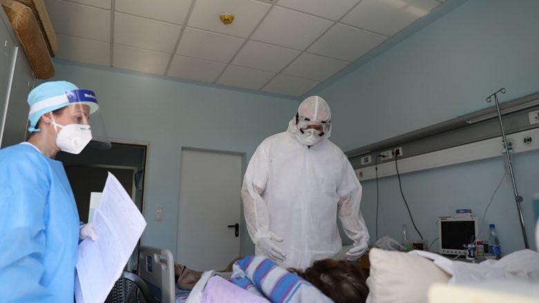 Në spitalet e Kosovës, 306 pacientë me COVID-19, prej tyre 217 me oksigjenoterapi dhe 11 të intubuar