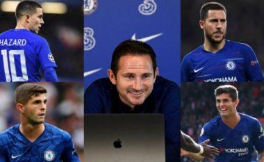 Lampard: Ndikimi i Pulisicit te Chelsea i ngjashëm me të Hazardit