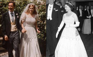 Princesha Beatrice veshi fustanin dhe kurorën e mbretëreshës në ditën e martesës
