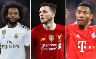Tifozët renditin dhjetë mbrojtësit e majtë më të mirë në botë – Alba i pari, Alaba i treti dhe Marcelo i shtati