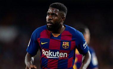 Barcelona informon Umtitin se është në shitje