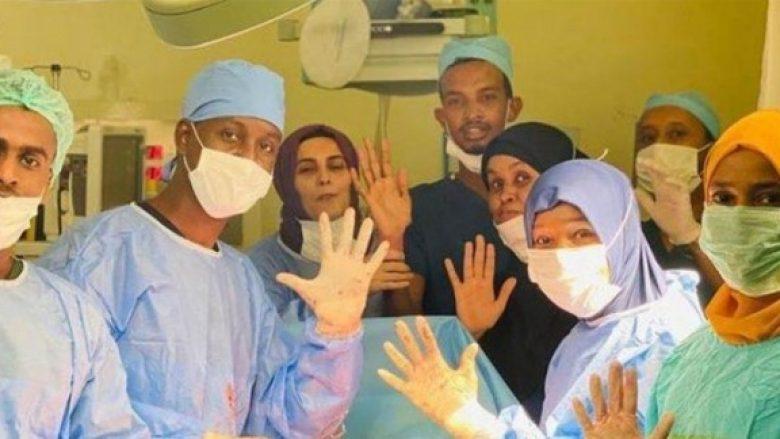 Në spitalin 'Recep Tayyip Erdogan' në Somali, një grua lind pesënjakë