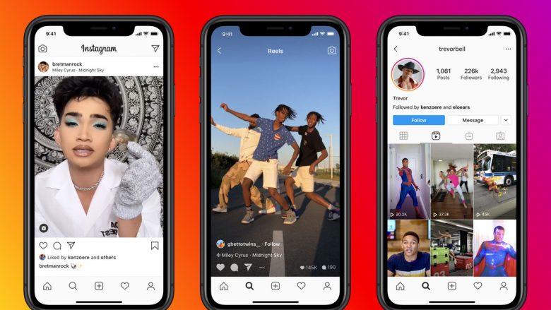Lansohet rivali i TikTok, Instagram Reels tani në dispozicion në të gjithë botën