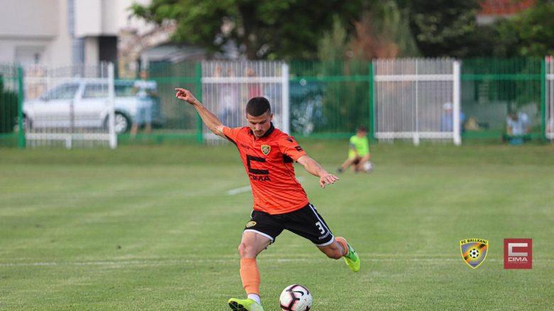 Arbër Potoku (Foto: FC Ballkani/Facebook)