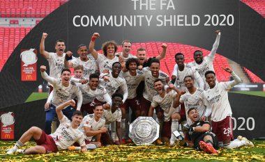 Arsenali mposht Liverpoolin në penallti dhe fiton Superkupën e Anglisë