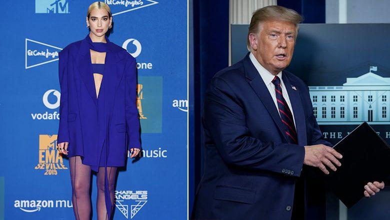 Dua Lipa dhe Donald Trump (Foto: Getty Images/Guliver)