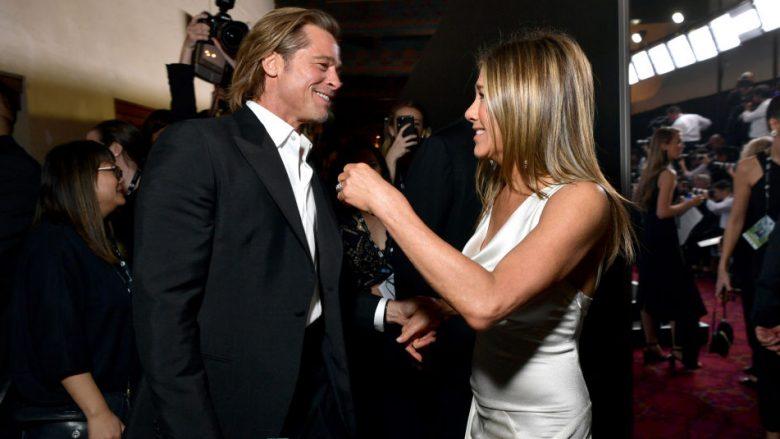 Brad Pitt dhe Jennifer Aniston (Foto: Emma McIntyre/Getty Images for Turner/Guliver)