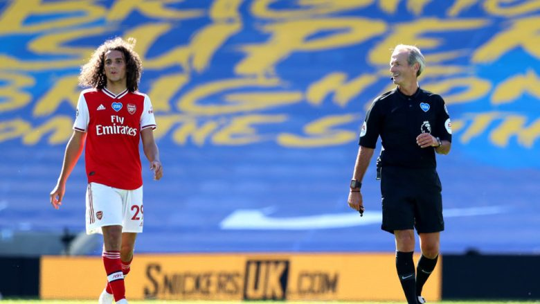 Matteo Guendouzi . (Photo by Gareth Fuller/Pool via Getty Images)