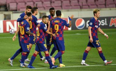 Messi dhuron spektakël ndaj Napolit, Barcelona siguron plasmanin në çerekfinale të Ligës së Kampionëve