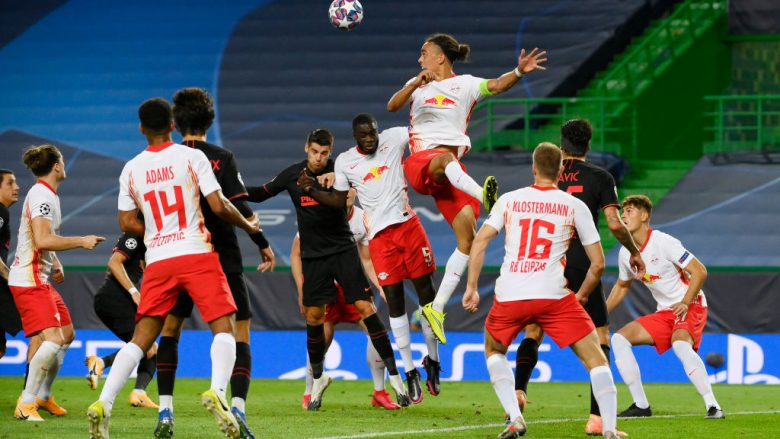 RB Leipzig - Atletico de Madrid . (Photo by Lluis Gene/Getty Images)