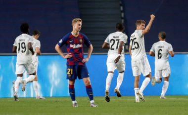 Bayerni i pamëshirshëm, shkatërron Barcelonën dhe siguron plasmanin në gjysmëfinale të LK