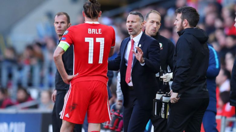 Gareth Bale dhe Ryan Giggs (Foto: Catherine Ivill/Getty Images/Guliver)