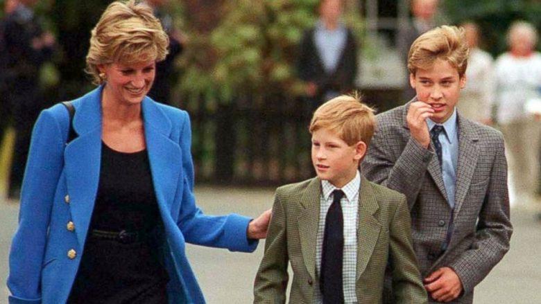 Princesha Diana, Princi William dhe Princi Harry (Foto: Getty Images/Guliver)