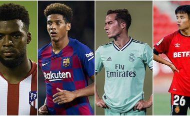 Top 20 lojtarët nga La Liga që do të jenë në tregun e transferimeve me çmim të përgjysmuar