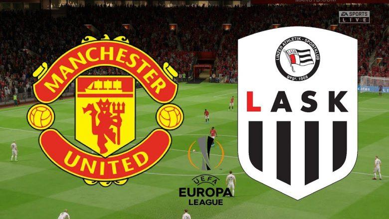 Unitedi luan me ekip të dytë ndeshjen kthyese ndaj Lask, formacionet zyrtare