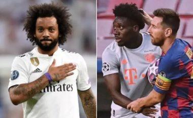 Reagimi epik i Marcelos pas paraqitjes së jashtëzakonshme të Alphonso Davies kundër Barcelonës