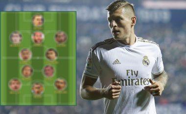 Toni Kroos zgjedh formacionin me lojtarët më të mirë me të cilët ka luajtur