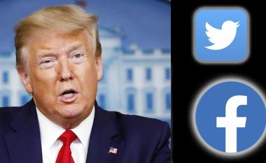 """Twitter dhe Facebook bllokuan përkohësisht llogaritë e Trumpit, presidenti publikoi """"fake news"""" për COVID-19"""