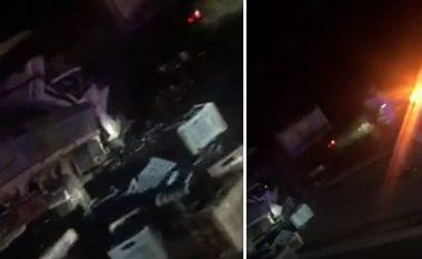 Aksident trafiku në magjistralen Prishtinë-Pejë, vdes një person