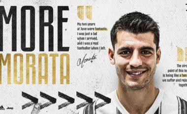 Zyrtare: Juventusi kompleton rikthimin e Moratas