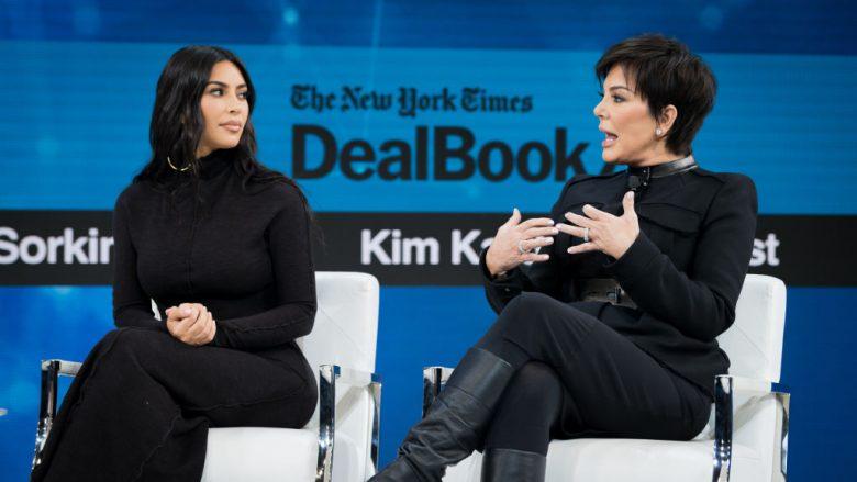 Kim Kardashian West dhe nëna e saj, Kris Jenner (Foto: Mike Cohen/Getty Images/Guliver)