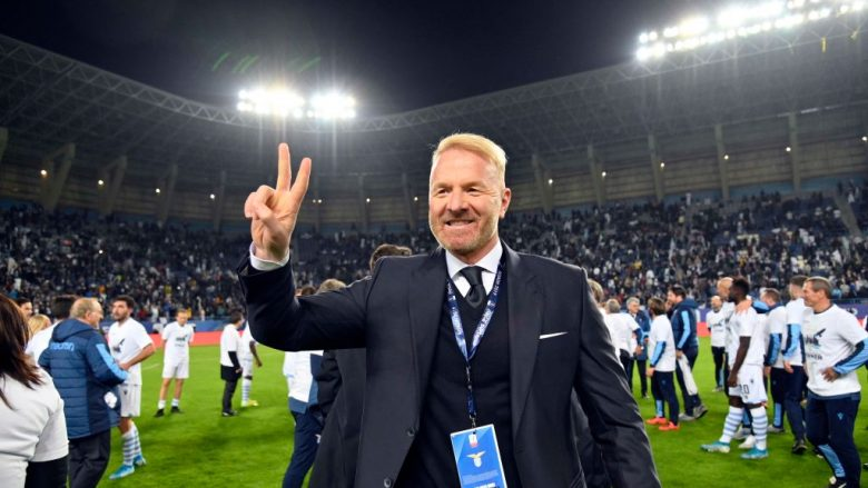 Igli Tare .  (Photo by Marco Rosi/Getty Images)