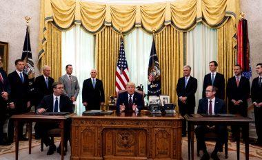 Kosova dhe Serbia nënshkruajnë marrëveshje në Shtëpinë e Bardhë