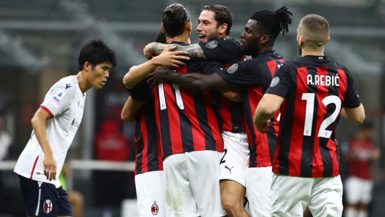 AC Milan.  (Photo by Marco Luzzani/Getty Images)
