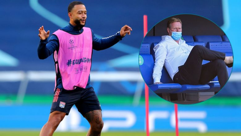 Memphis Depay, Ronald Koeman (Foto: Getty Images/Guliver)