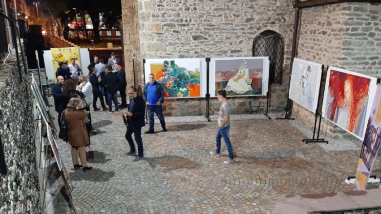 Ekspozitë kolektive për fund të edicionit të 11-të të kolonisë artistike ndërkombëtare në Tetovë