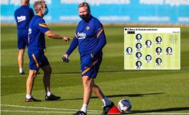 Barcelona e Koemanit po merr formë, ky është formacioni i mundshëm me disa ndryshime në rreshtim dhe pozita