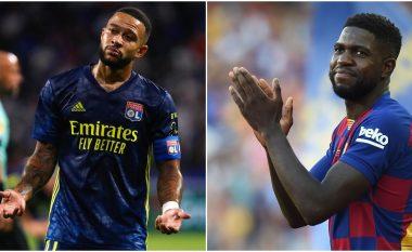 Lyon interesohet për rikthimin e Umtitit, Barça gati ta përfshijë francezin në ofertën për Depay