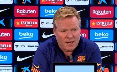 Koeman konfirmon se do mbrojtës dhe sulmues te Barcelona