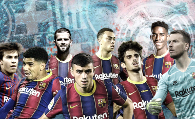 Tetë lojtarët që mund të debutojnë në El Clasico për Barcelonën – disa prej tyre kanë lënë përshtypje të mëdha në këtë fillim