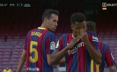 Barazohet gjithçka në El Clasico, Ansu Fati i shënon Real Madridit
