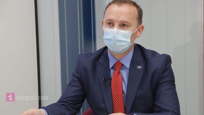 Ministri i Shëndetësisë, Armend Zemaj/ Foto: Ridvan Slivova