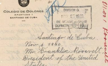 Letra e 14-vjeçarit Fidel Castro, për presidentin amerikan: Shoku im i dashur Roosevelt, m'i dërgo 10 dollarë!