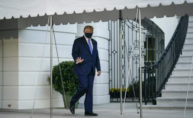 """Presidenti Trump shtrohet në spitalin ushtarak """"Walter Reed"""" pas diagnozës me COVID-19"""